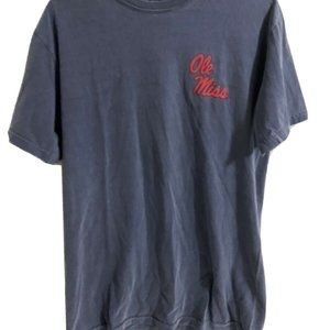 """Comfort Colors Shirts - Ole Miss Rebels """"Hotty Toddy"""" Charcoal Grey Shirt"""